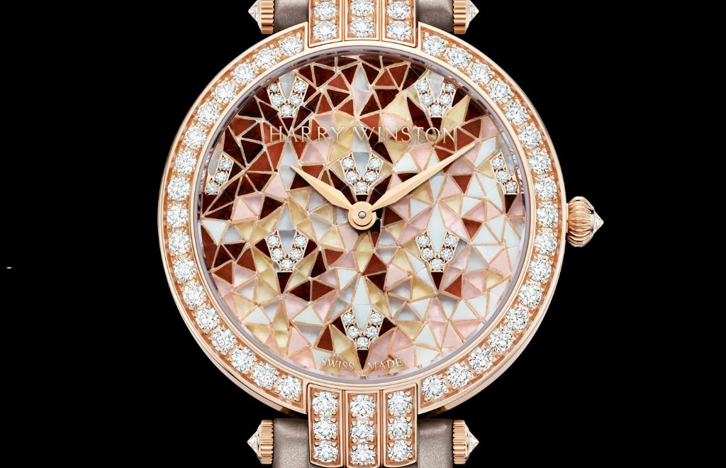 Harry Winston's New Timepieces: Fine And Marvelous Mosaic Watches