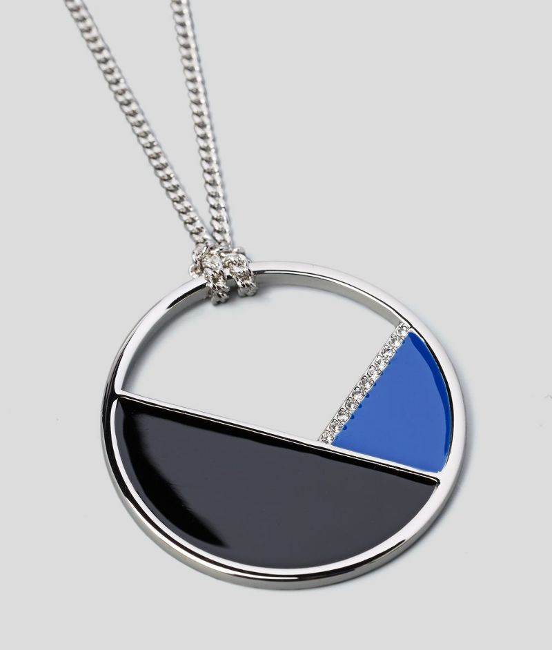 The Best Of Karl Lagerfeld's Design: The Most Supreme Jewerly Pieces karl lagerfeld The Best Of Karl Lagerfeld's Design: The Most Supreme Jewelry Pieces COLOR BLOCK LONG PENDANT NECKLACE