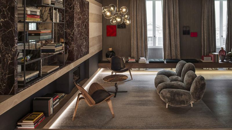 Five Impressive And Expensive Hotels Owned By High Fashion Brands expensive hotels Five Impressive And Expensive Hotels Owned By High Fashion Brands Fendi Private Suites Rome Italy 2