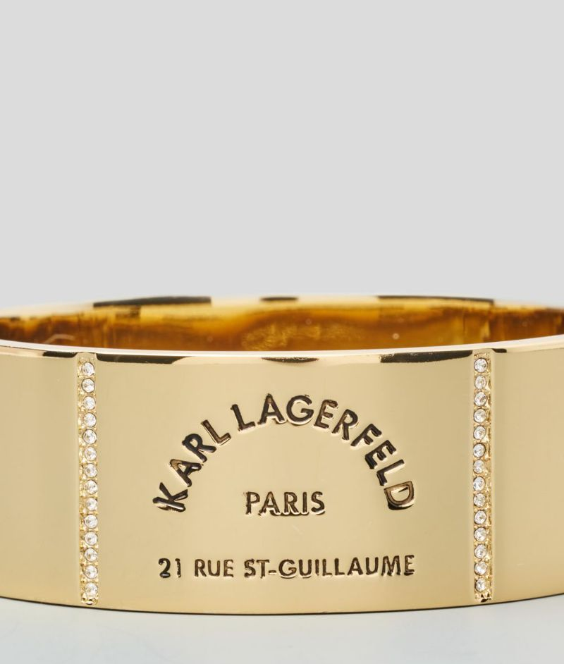 The Best Of Karl Lagerfeld's Design: The Most Supreme Jewerly Pieces karl lagerfeld The Best Of Karl Lagerfeld's Design: The Most Supreme Jewelry Pieces RUE ST GUILLAUME LARGE BANGLE