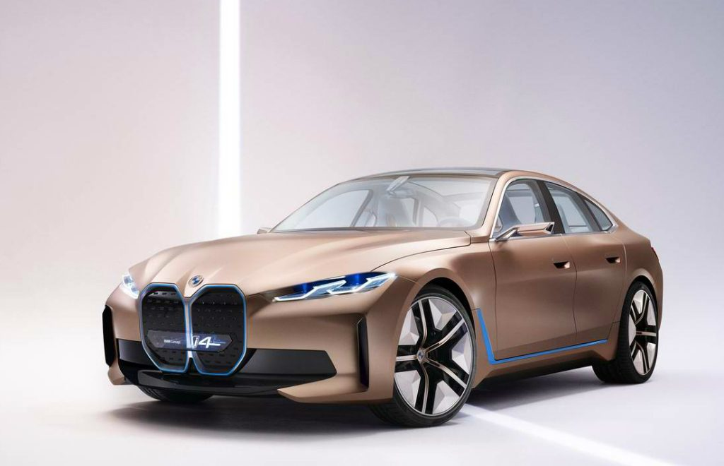 BMW Concept i4 Electric Gran Coupe: The First Pure Electric Supercar