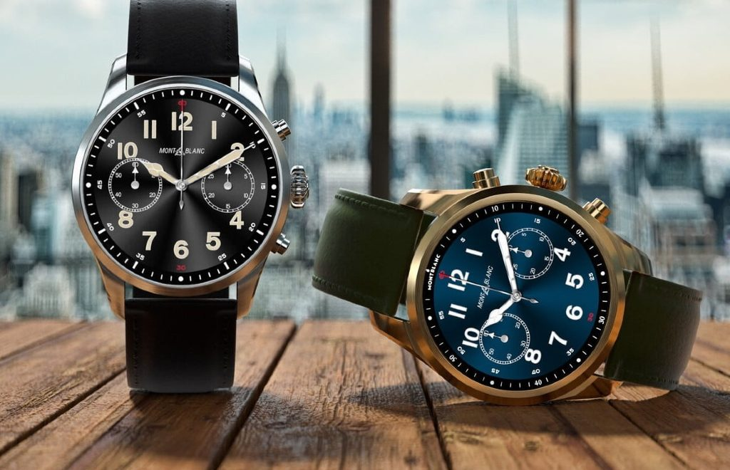 The New Montblanc's Technologically Advanced Timepieces 4G LTE