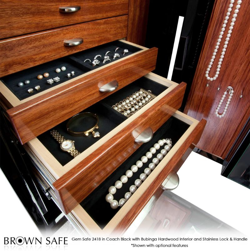 The Gem Luxury Jewelry Safes: Symbols Of High Quality By Brown Safe brown safe The Gem Luxury Jewelry Safes: Symbols Of High Quality By Brown Safe Gem 2418 Jewelry Safe Coach Black 2