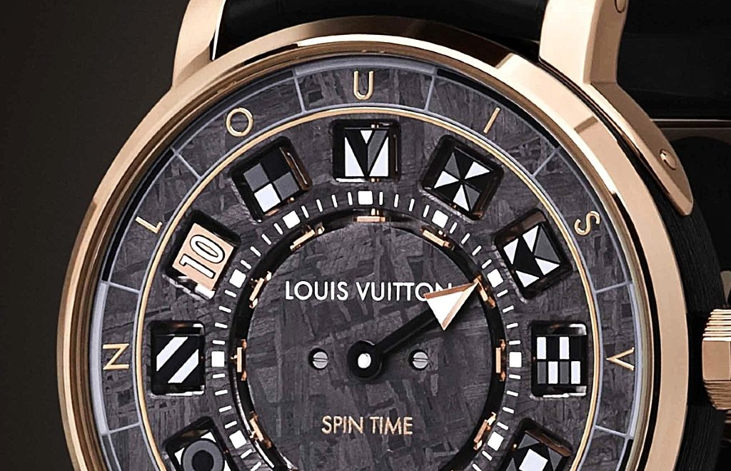 The Escale Spin Time Météorite: A Louis Vuitton's Watch Design Concept