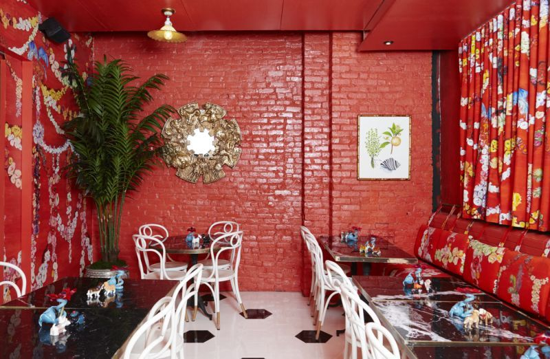 "Sasha Bikoff's Unique Design Project: The Mess, An Iconic Restaurant sasha bikoff Sasha Bikoff Designs ""TheMess"", Based On Her Traveling Experiences Sasha Bikoffs Unique Design Project The Mess An Iconic Restaurant 7"