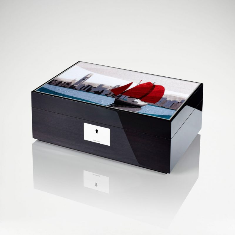 David Linley's Ideal Gifts For An Exclusive Cigar Connoisseur david linley David Linley's Ideal Gifts For An Exclusive Cigar Connoisseur hong kong skyline box 2