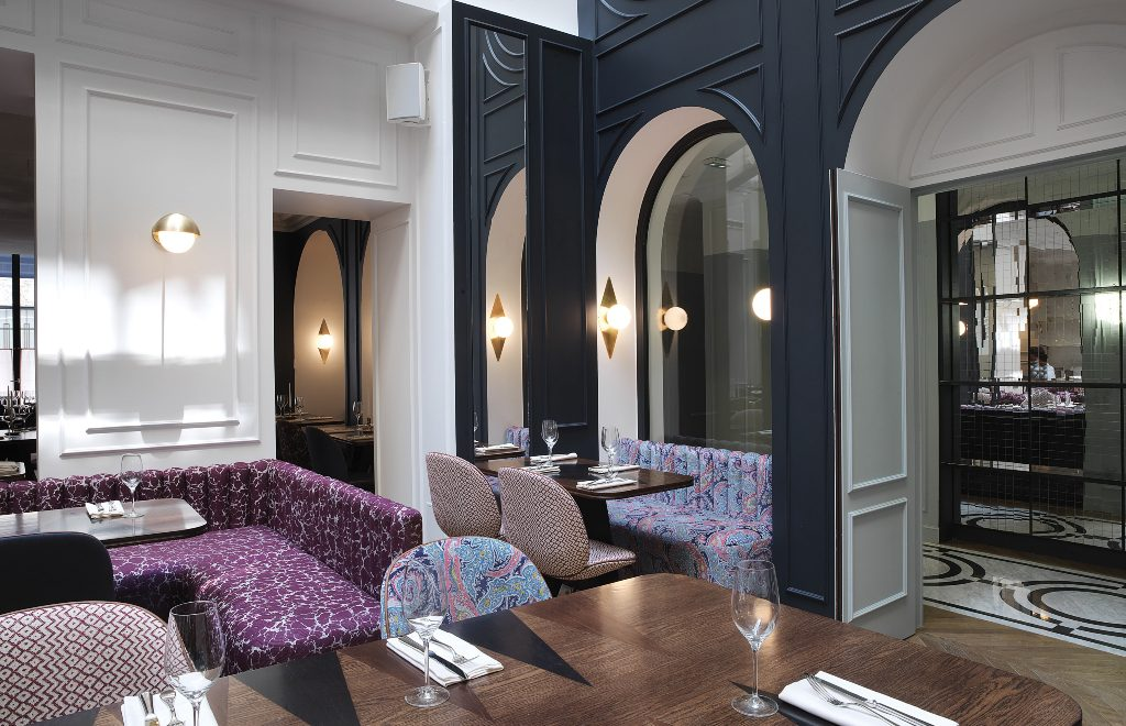 Fancy And Contemporary Restaurant Design Projects By Chzon