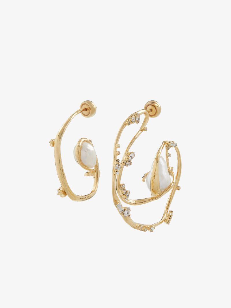 Fine Craftsmanship & Luxury Design: Unique Jewelry Pieces By Givenchy givenchy Fine Craftsmanship & Luxury Design: Unique Jewelry Pieces By Givenchy ELLIPSE ASYMMETRICAL EARRINGS