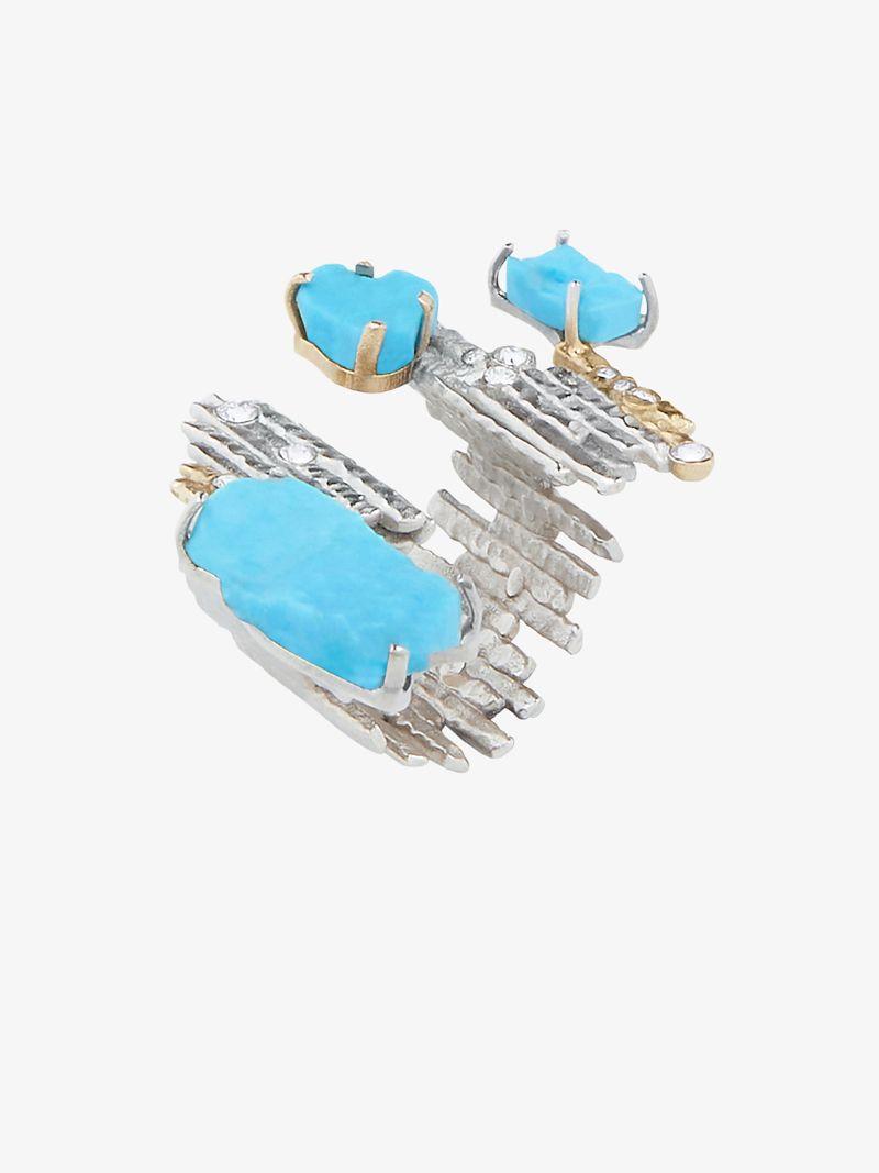 Fine Craftsmanship & Luxury Design: Unique Jewelry Pieces By Givenchy givenchy Fine Craftsmanship & Luxury Design: Unique Jewelry Pieces By Givenchy FRACTURED THREE FINGERS RING