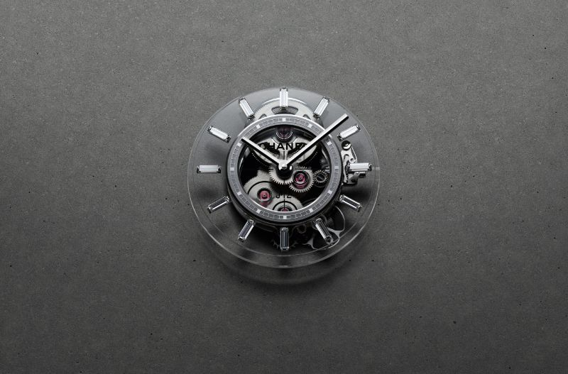 Get Impressed By The New Chanel Contemporary Fine-Watch Designs chanel Get Impressed By The New Chanel Contemporary Fine-Watch Designs H6249 J12 X RAY calibre 3