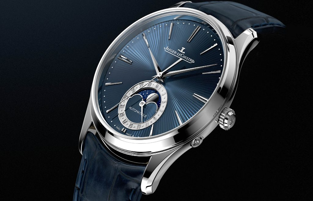 Jaeger-LeCoultre's Master Ultra-Thin Moon Enamel: An Artsy Timepiece