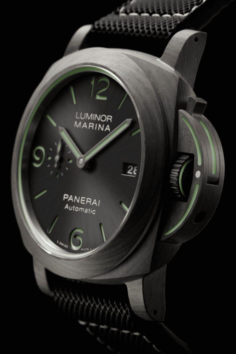The Luminor Edition By Panerai: New Powerful And Remarkable Timepieces panerai The Luminor Edition By Panerai: New Powerful And Remarkable Timepieces LUMINOR MARINA FIBRATECH    44MM 2