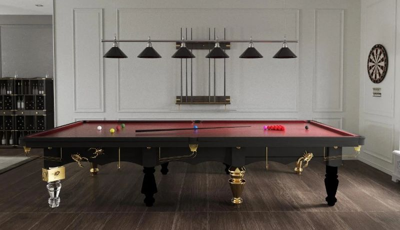 Three Elegantly Designed Playing Tables For Your Luxury Gaming Room luxury gaming room Three Elegantly Designed Playing Tables For Your Luxury Gaming Room Metamorphosis snooker table 1