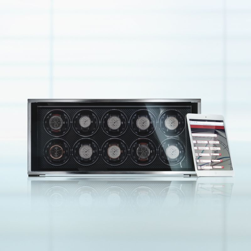 erwin sattle Timeless Design And High Quality: Modern Watch Winders By Erwin Sattler ROTALIS 10 1