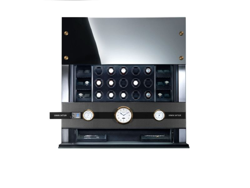 erwin sattle Timeless Design And High Quality: Modern Watch Winders By Erwin Sattler ROTALIS 24 2