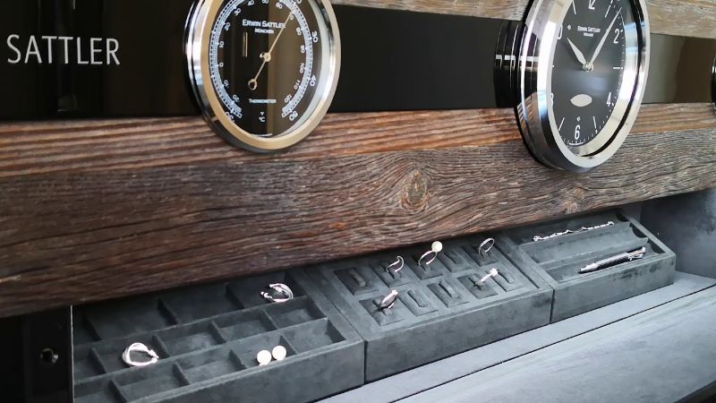 erwin sattle Timeless Design And High Quality: Modern Watch Winders By Erwin Sattler ROTALIS 24 4