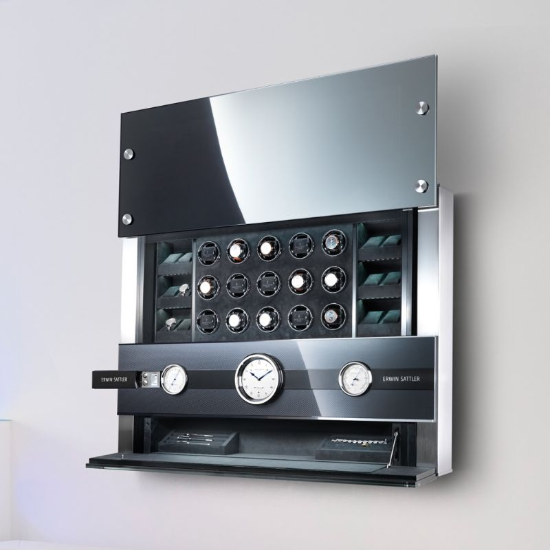 erwin sattle Timeless Design And High Quality: Modern Watch Winders By Erwin Sattler ROTALIS 24 6