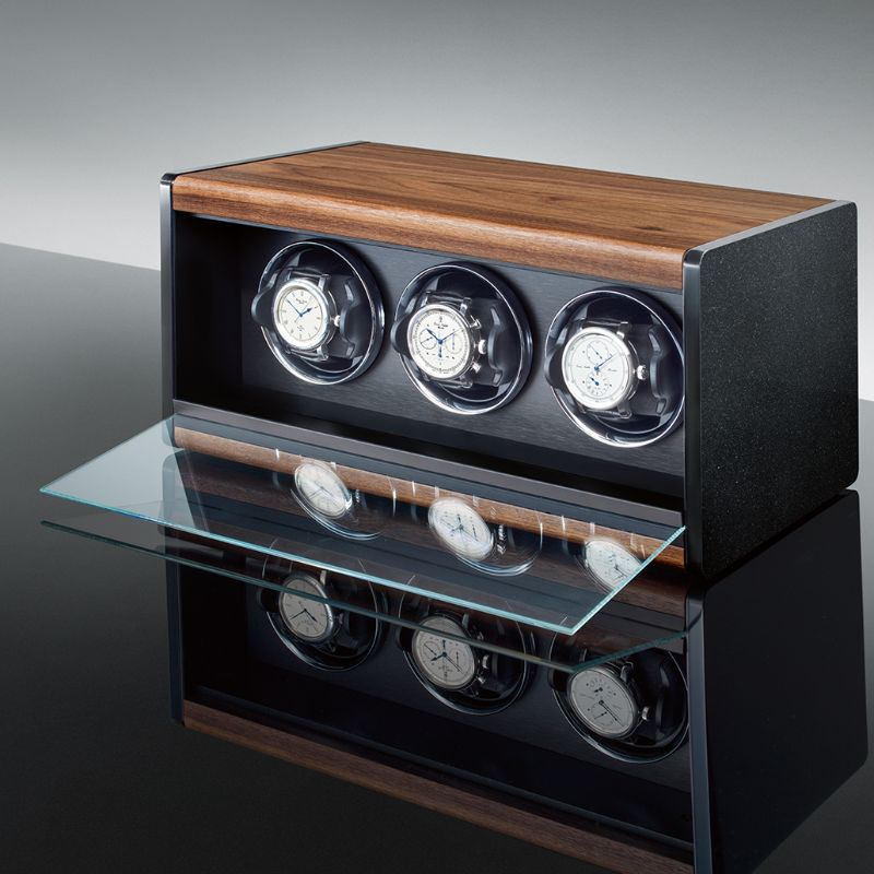 Timeless Design And High Quality: Modern Watch Winders By Erwin Sattler erwin sattle Timeless Design And High Quality: Modern Watch Winders By Erwin Sattler ROTALIS 3 1 2