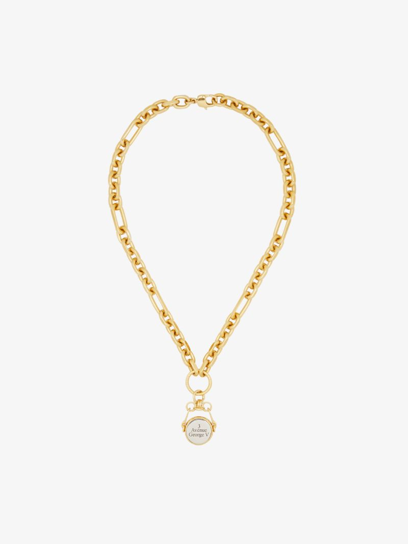 Fine Craftsmanship & Luxury Design: Unique Jewelry Pieces By Givenchy givenchy Fine Craftsmanship & Luxury Design: Unique Jewelry Pieces By Givenchy TWISTED CHARM NECKLACE