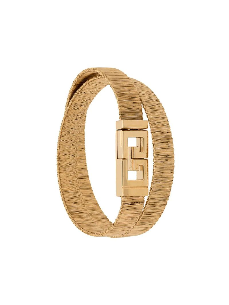Fine Craftsmanship & Luxury Design: Unique Jewelry Pieces By Givenchy givenchy Fine Craftsmanship & Luxury Design: Unique Jewelry Pieces By Givenchy TWO ROW BRACELET
