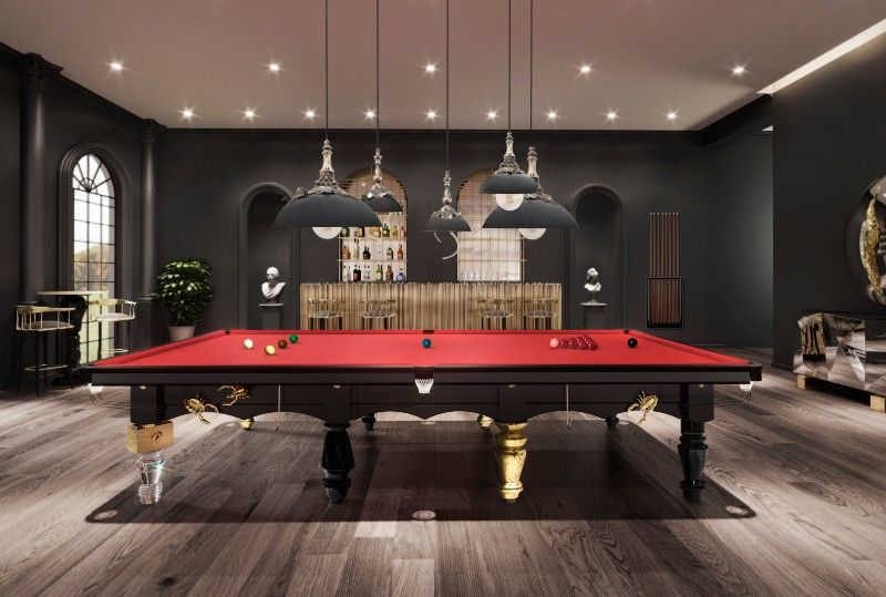 Three Elegantly Designed Playing Tables For Your Luxury Gaming Room luxury gaming room Three Elegantly Designed Playing Tables For Your Luxury Gaming Room ambience metamorphosis snooker 2