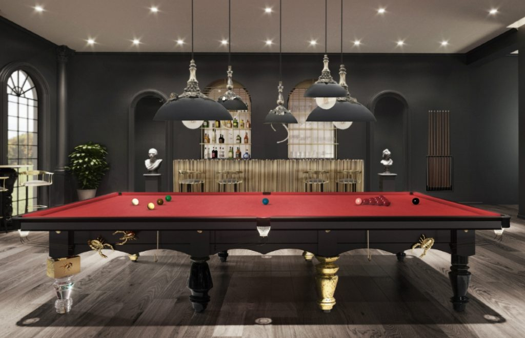 Three Elegantly Designed Playing Tables For Your Luxury Gaming Room