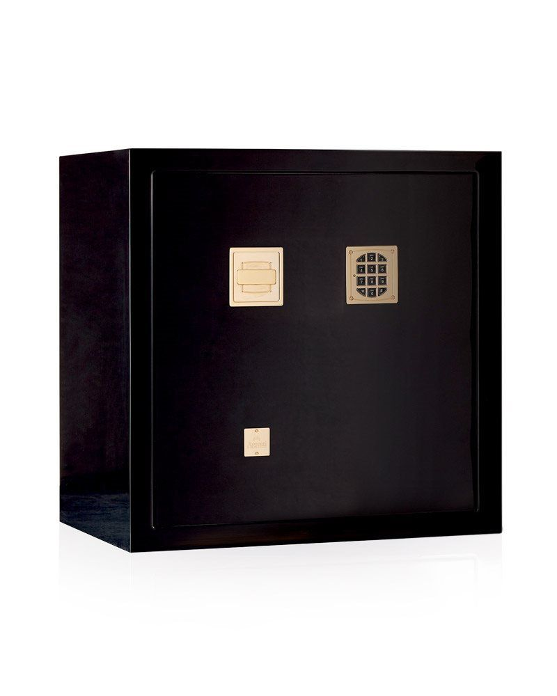 High Security With Pleasing Aesthetics: Modern Five Black Luxury Safes luxury safes High Security With Pleasing Aesthetics: Modern Five Black Luxury Safes Agresti 2