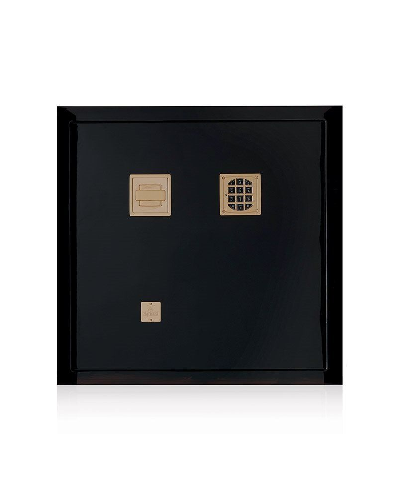 High Security With Pleasing Aesthetics: Modern Five Black Luxury Safes luxury safes High Security With Pleasing Aesthetics: Modern Five Black Luxury Safes Agresti
