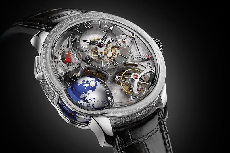 Perfection And Innovation: Discover GMT Timepieces By Greubel Forsey greubel forsey Perfection And Innovation: Discover GMT Timepieces By Greubel Forsey GMT EARTH 1