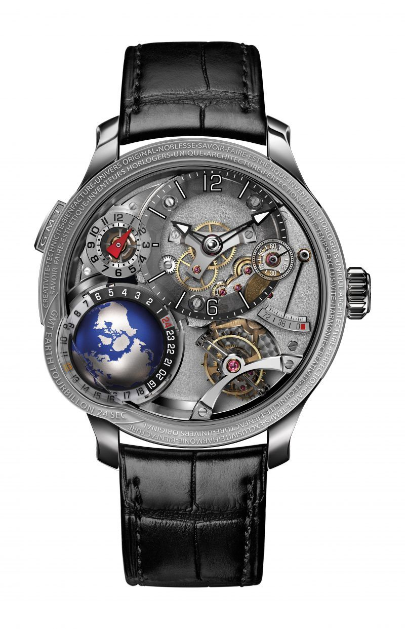 Perfection And Innovation: Discover GMT Timepieces By Greubel Forsey greubel forsey Perfection And Innovation: Discover GMT Timepieces By Greubel Forsey GMT EARTH 2