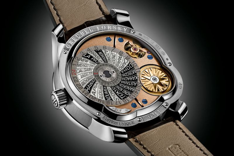 Perfection And Innovation: Discover GMT Timepieces By Greubel Forsey greubel forsey Perfection And Innovation: Discover GMT Timepieces By Greubel Forsey GMT Mouvement 5N 2