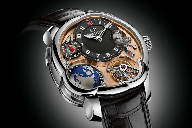 Perfection And Innovation: Discover GMT Timepieces By Greubel Forsey greubel forsey Perfection And Innovation: Discover GMT Timepieces By Greubel Forsey GMT Mouvement 5N