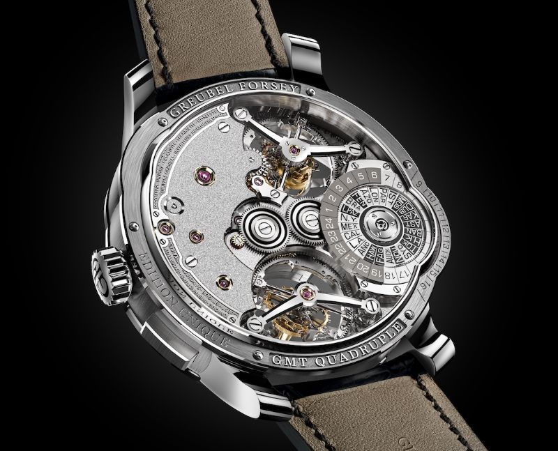 Perfection And Innovation: Discover GMT Timepieces By Greubel Forsey greubel forsey Perfection And Innovation: Discover GMT Timepieces By Greubel Forsey GMT QUADRUPLE TOURBILLON 3