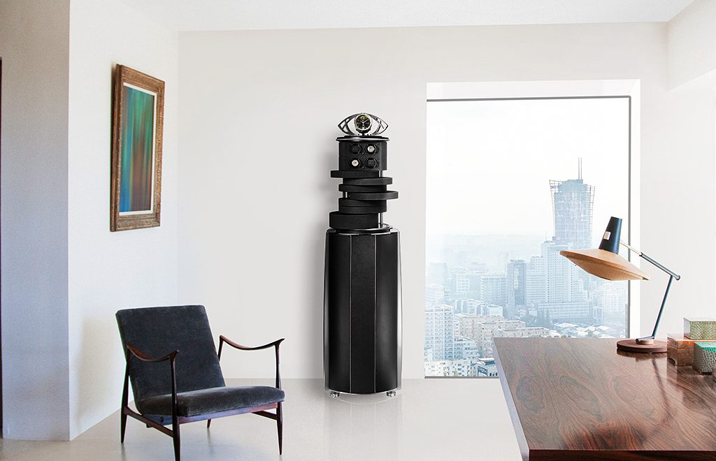 High Security With Pleasing Aesthetics: Modern Five Black Luxury Safes