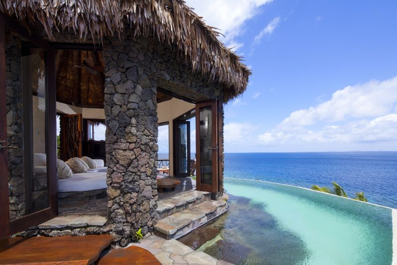 The Five Most Expensive Vacation Spots In The World luxury lifestyle Exclusive Vacation Getaways To Enhance Your Luxury Lifestyle Hilltop Villa at the Laucala Island Resort Laucala Island Fiji 2