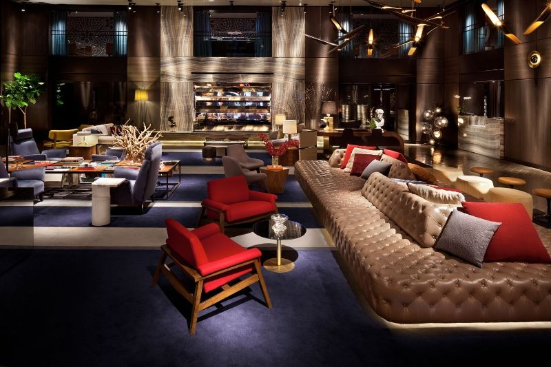 Inside Hotel Paramount In New York: A Masterpiece By Philippe Starck philippe starck Inside Hotel Paramount In New York: A Masterpiece By Philippe Starck Hotel Paramount New York 4