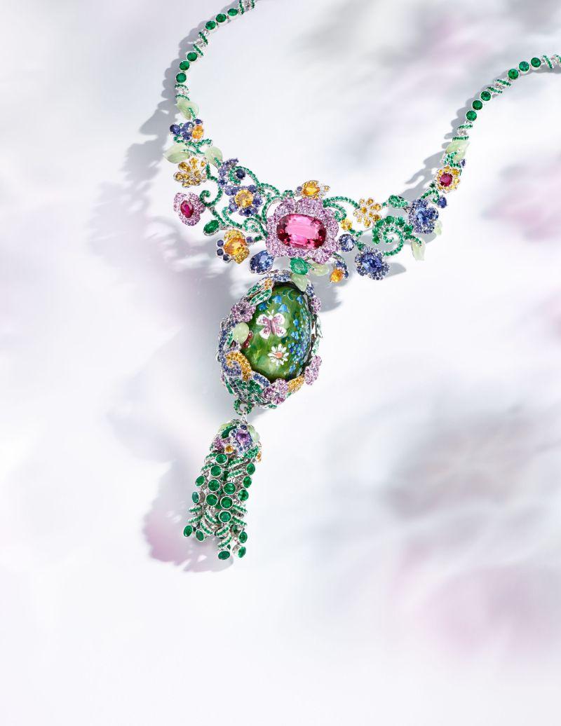 Exceptional Creations: Unique Artworks And Jewelry Pieces By Fabergé fabergé Exceptional Creations: Unique Artworks And Jewelry Pieces By Fabergé Secret Garden