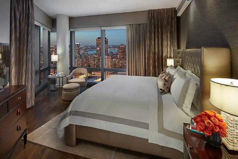 The Five Most Expensive Vacations Spot In The World luxury lifestyle Exclusive Vacation Getaways To Enhance Your Luxury Lifestyle Suite 5000 at the Mandarin Oriental NYC 1