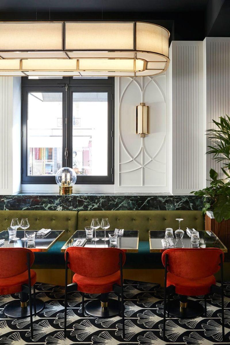 The Beefbar Paris By Humbert et Poyet: An Ode To Art Noveau Style humbert et poyet The Beefbar Paris By Humbert et Poyet: An Ode To Art Noveau Style paris restaurant maison object 20191