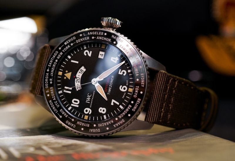 Discover 10 Luxury Timepieces With Unique And Marvelous Features timepieces Discover 10 Luxury Timepieces With Unique And Marvelous Features pilots watch timezoner spitfire edition the longest flight by iwc schaffhausen