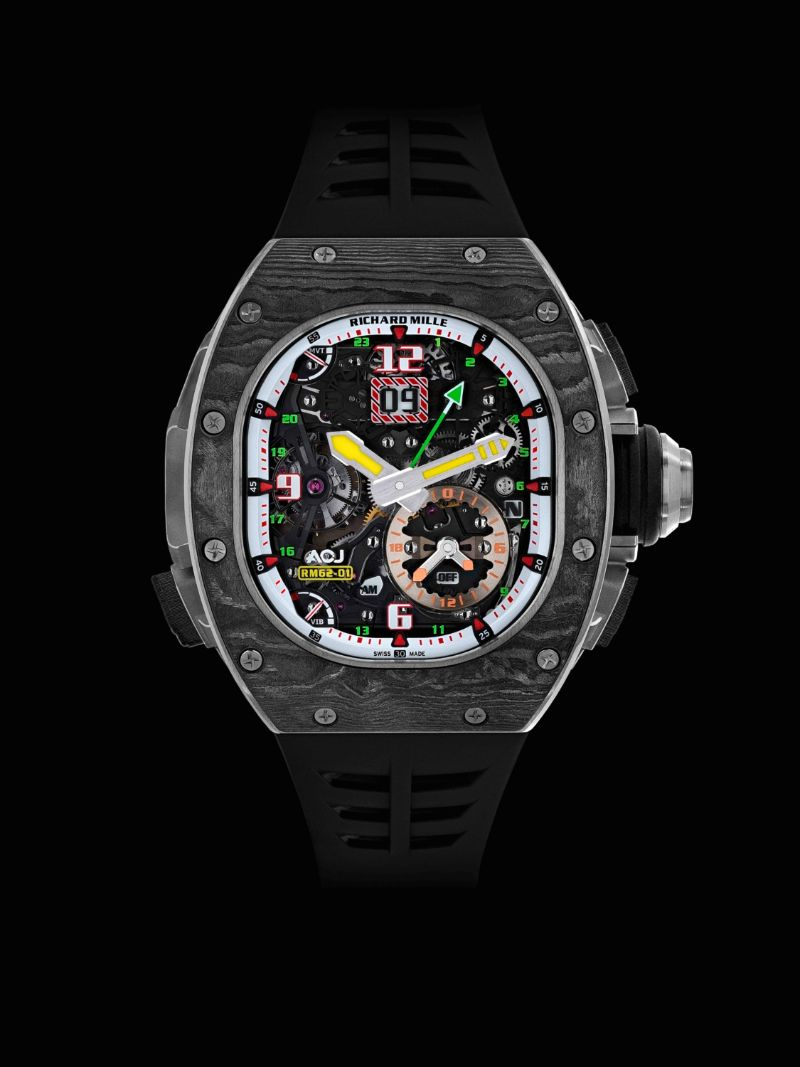Discover 10 Luxury Timepieces With Unique And Marvelous Features timepieces Discover 10 Luxury Timepieces With Unique And Marvelous Features rm 62 01 tourbillon vibrating alarm by richard mille