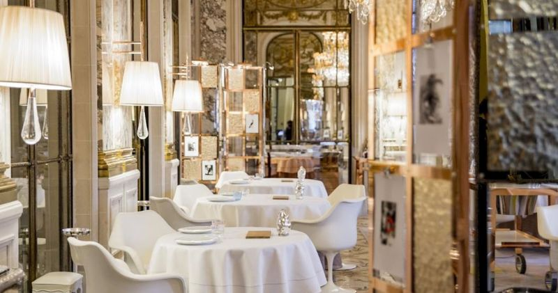A Dining Design Project By Philippe Starck: Inside Le Meurice Alain Ducasse