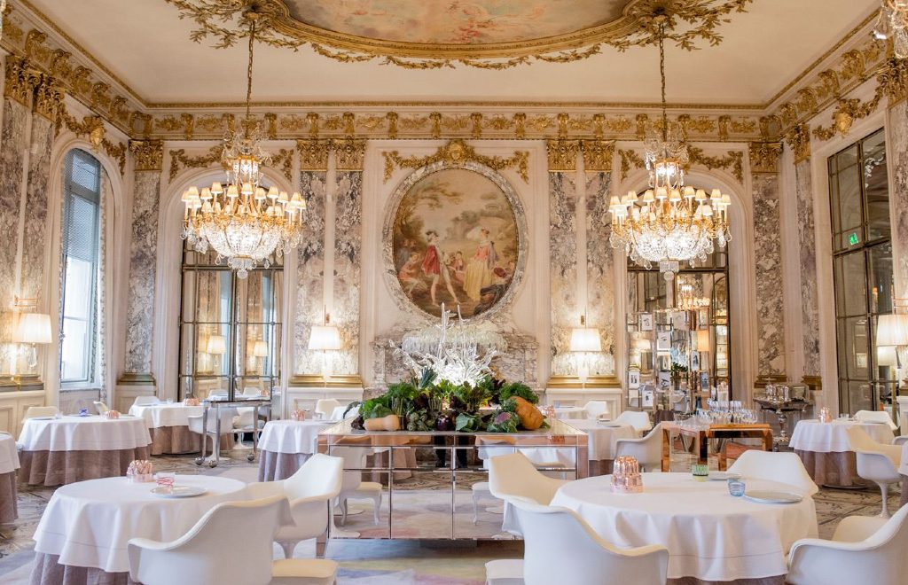An Ode To Haute Cuisine: Inside Restaurant Le Meurice Alain Ducasse
