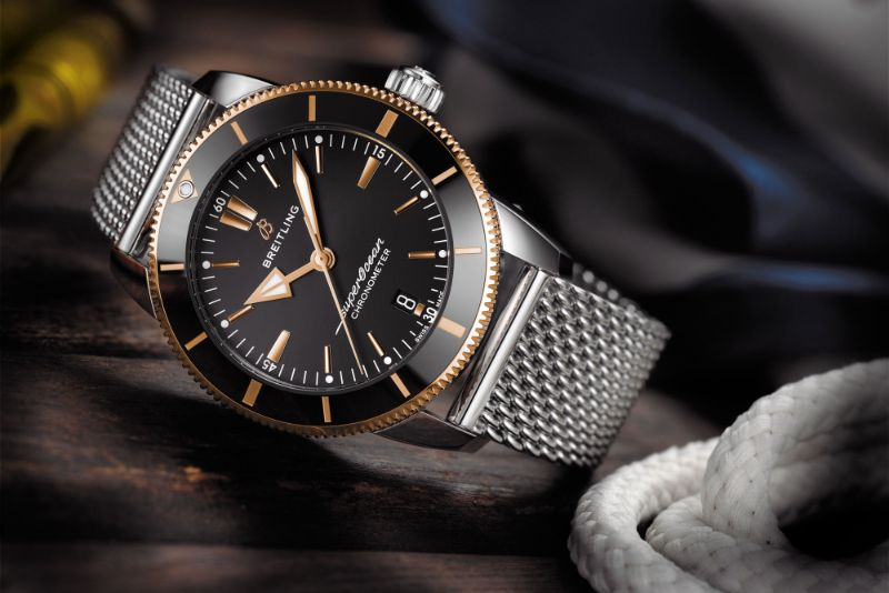 A Tribute To Beverly Hills: The New Modern Watch By Breitling breitling A Tribute To Beverly Hills: The New Modern Watch By Breitling Breitling Superocean Heritage B20 Automatic 44 3