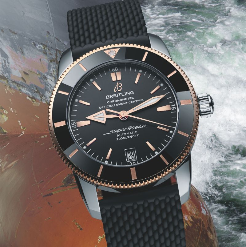 A Tribute To Beverly Hills: The New Modern Watch By Breitling breitling A Tribute To Beverly Hills: The New Modern Watch By Breitling Breitling Superocean Heritage B20 Automatic 44 4