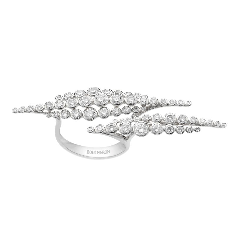 An Heavenly Jewelry Collection: The Contemplation Jewels By Boucheron boucheron An Heavenly Jewelry Collection: The Contemplation Jewels By Boucheron EN PASSANT RING