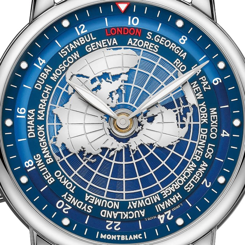All The World In Your Wrist: The New Intuitive Timepiece By Montblanc montblanc The Whole World In Your Wrist: The New Montblanc's Intuitive Timepiece Montblanc Star Legacy Orbis Terrarum 2