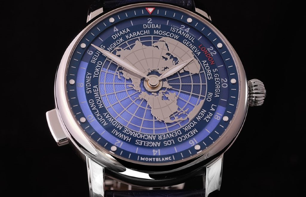 All The World In Your Wrist: The New Intuitive Timepiece By Montblanc