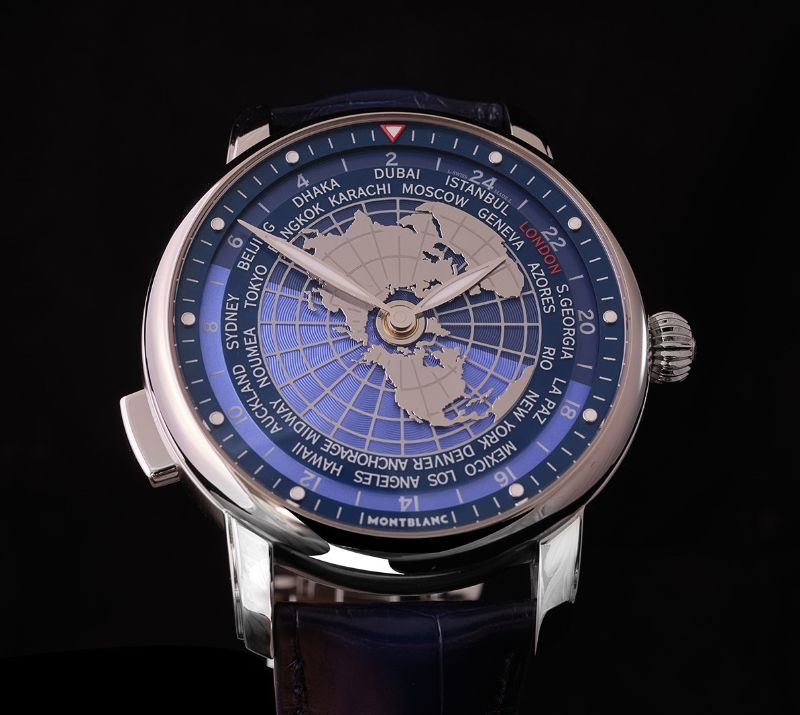 All The World In Your Wrist: The New Intuitive Timepiece By Montblanc montblanc The Whole World In Your Wrist: The New Montblanc's Intuitive Timepiece Montblanc Star Legacy Orbis Terrarum 3