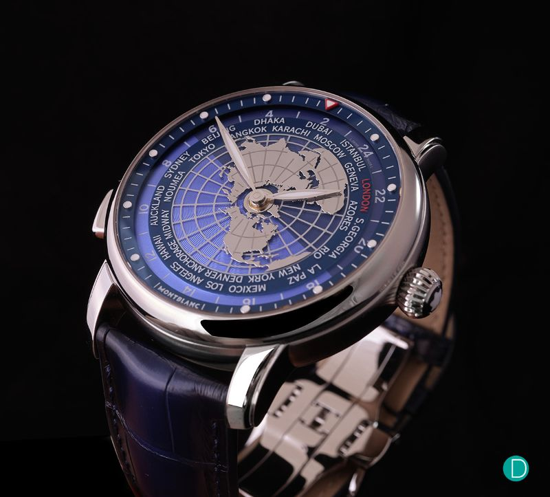 All The World In Your Wrist: The New Intuitive Timepiece By Montblanc montblanc The Whole World In Your Wrist: The New Montblanc's Intuitive Timepiece Montblanc Star Legacy Orbis Terrarum 5